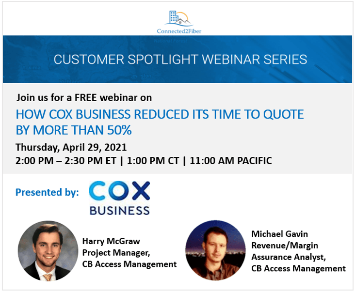 How Cox Business Reduced its Time to Quote by More than 50%
