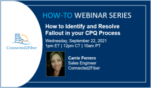 How to Identify and Resolve Fallout in Your CPQ Process